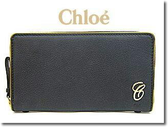 クロエ 財布 Chloe 長財布 ラウンドファスナー EMMA 3P0615 161 001 ブラック×ゴールド【YDKG-td】【smtb-TD】【saitama】【楽ギフ_包装】【楽ギフ_メッセ入力】:ブルーリボンジャパン
