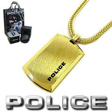 ポリス ネックレス POLICE PURITY プレートペンダント 24920PSG-A ステンレスネックレス【楽ギフ_...