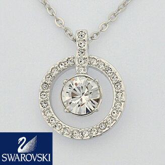 SWAROVSKIスワロフスキーネックレスレディースLavenderペンダント1039065