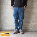 GRIP SWANY グリップスワニー キャンプパンツ JOG 3D デニムパンツ GSP-43 メンズ レディース デニム パンツ ジーンズ キャンプ アウトドア ゆったり イージー ストレッチ ワーク ジョグ キャンパー アメカジ