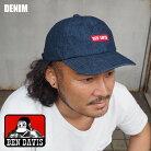 BENDAVISベンデイビスキャップBENボックスロゴ帽子BDW-9456メンズレディース黒青ブラックブルーDENIMデニムデニムキャップCAPアメカジロゴBENDAVISサイズ調節可能アジャスターおしゃれ
