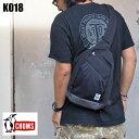 CHUMS チャムス ボディバッグ Body Bag Sweat Nylon CH60-2676 バッグ メンズ レディース 鞄 カバン かばん カジュアル シンプル ブランド おしゃれ アウトドア ネイビー 黒 ブラック