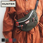 HUNTERハンターバッグメンズレディースORIGINALBUMBAGオリジナルバムバッグUBP7020KBMボディバッグ鞄カバンシンプルカジュアルおしゃれ大人ブランドロゴ耐水黒ブラックネイビーオリーブレッド