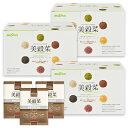 ダイエット ドリンク シェイク 健康 美容 食物せんい 置き換え 美穀菜 お得な3箱セット 90袋 6種類 個包装 クロロゲン酸 混ぜるだけ 20%OFF ブルックス BROOK'S BROOKS