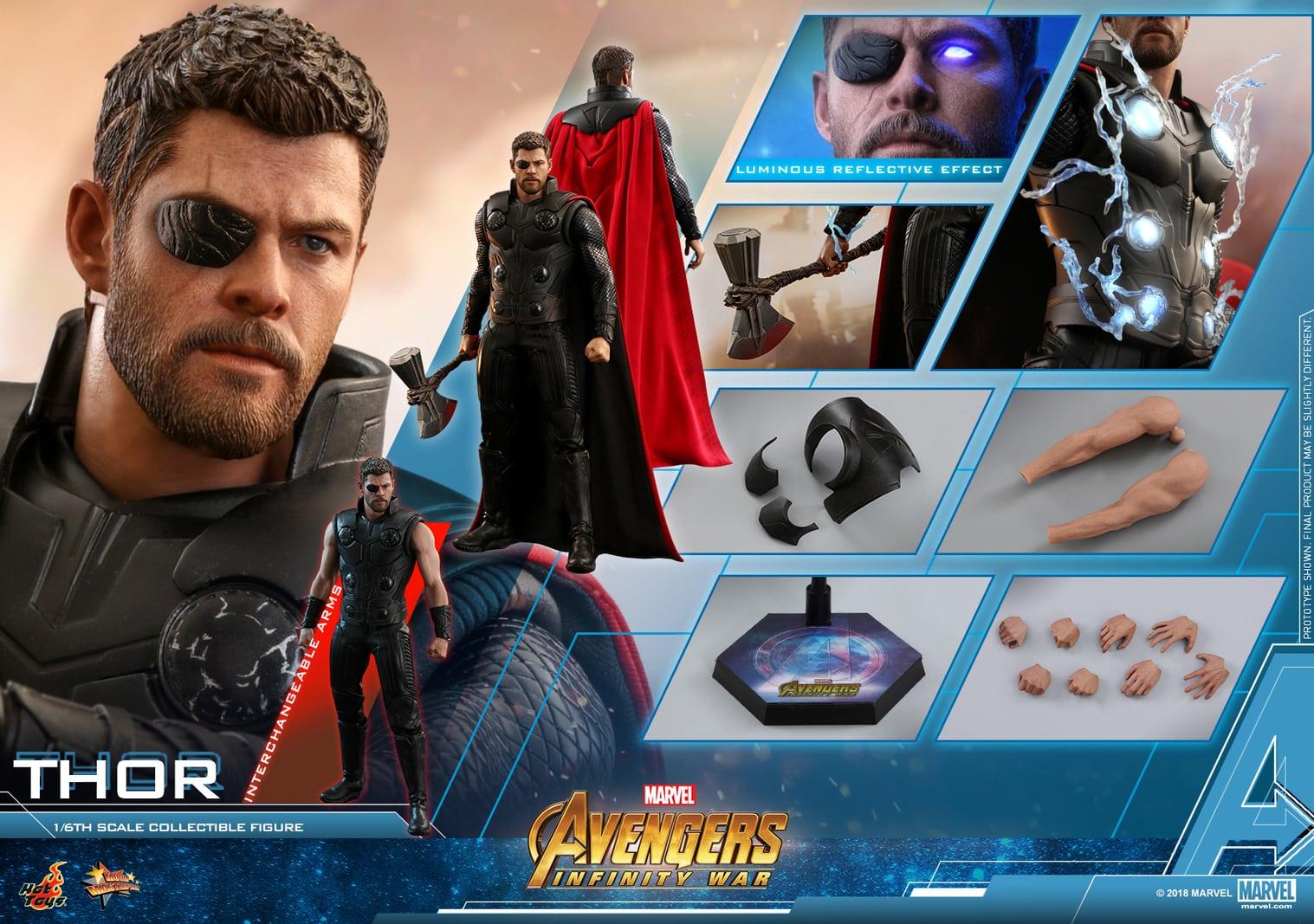 コレクション, フィギュア Hottoys MMS 474 16 Avengers: Infinity War - Thor