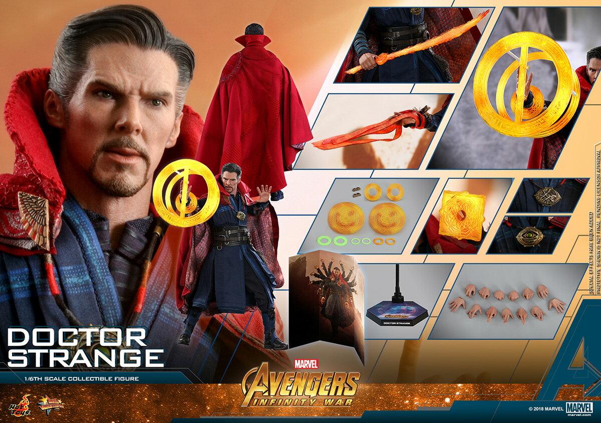 コレクション, フィギュア Hottoys MMS 484 16 Avengers: Infinity War - Doctor Strange
