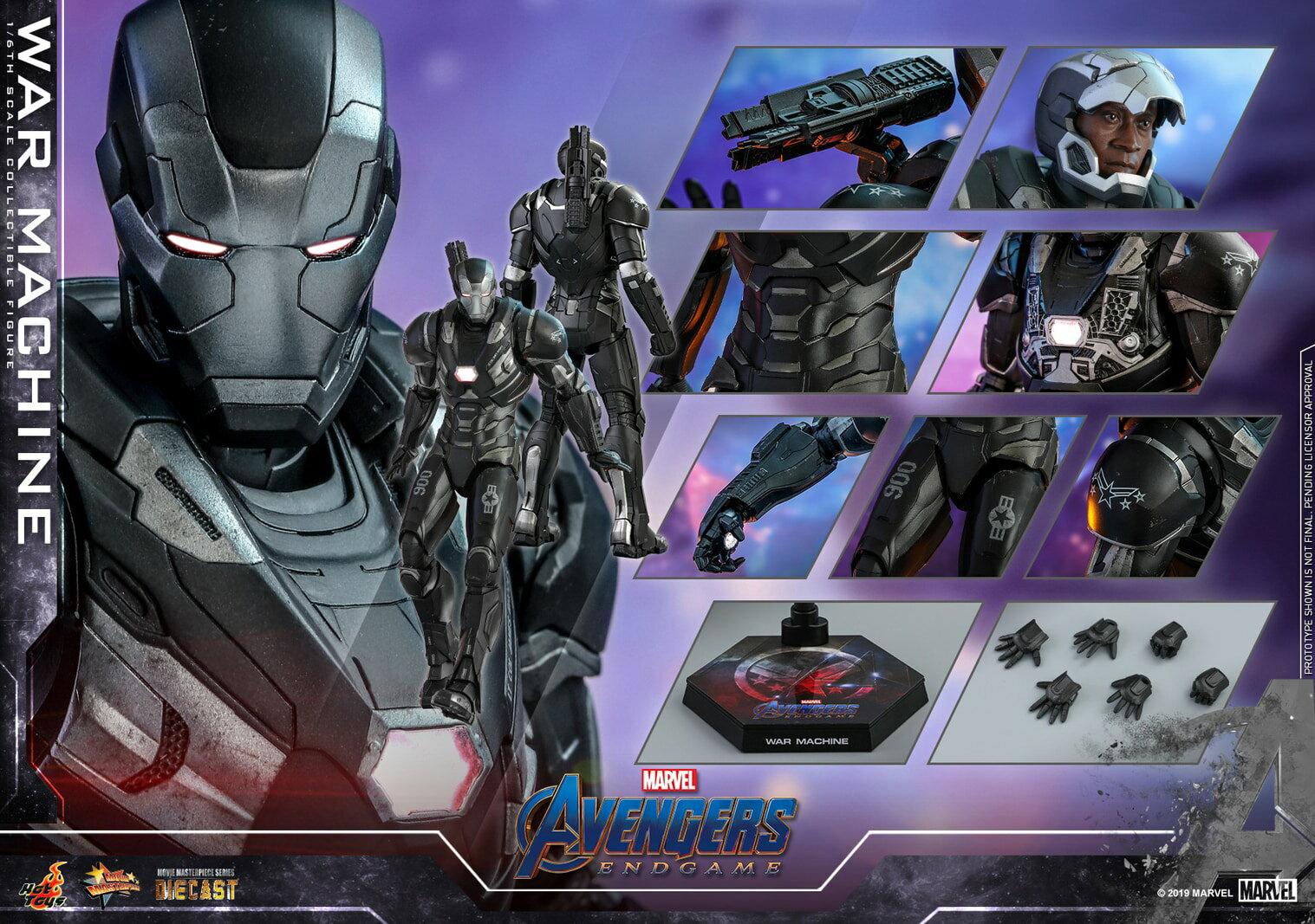 コレクション, フィギュア Hottoys MMS530D31 16 Avengers: Endgame - War Machine