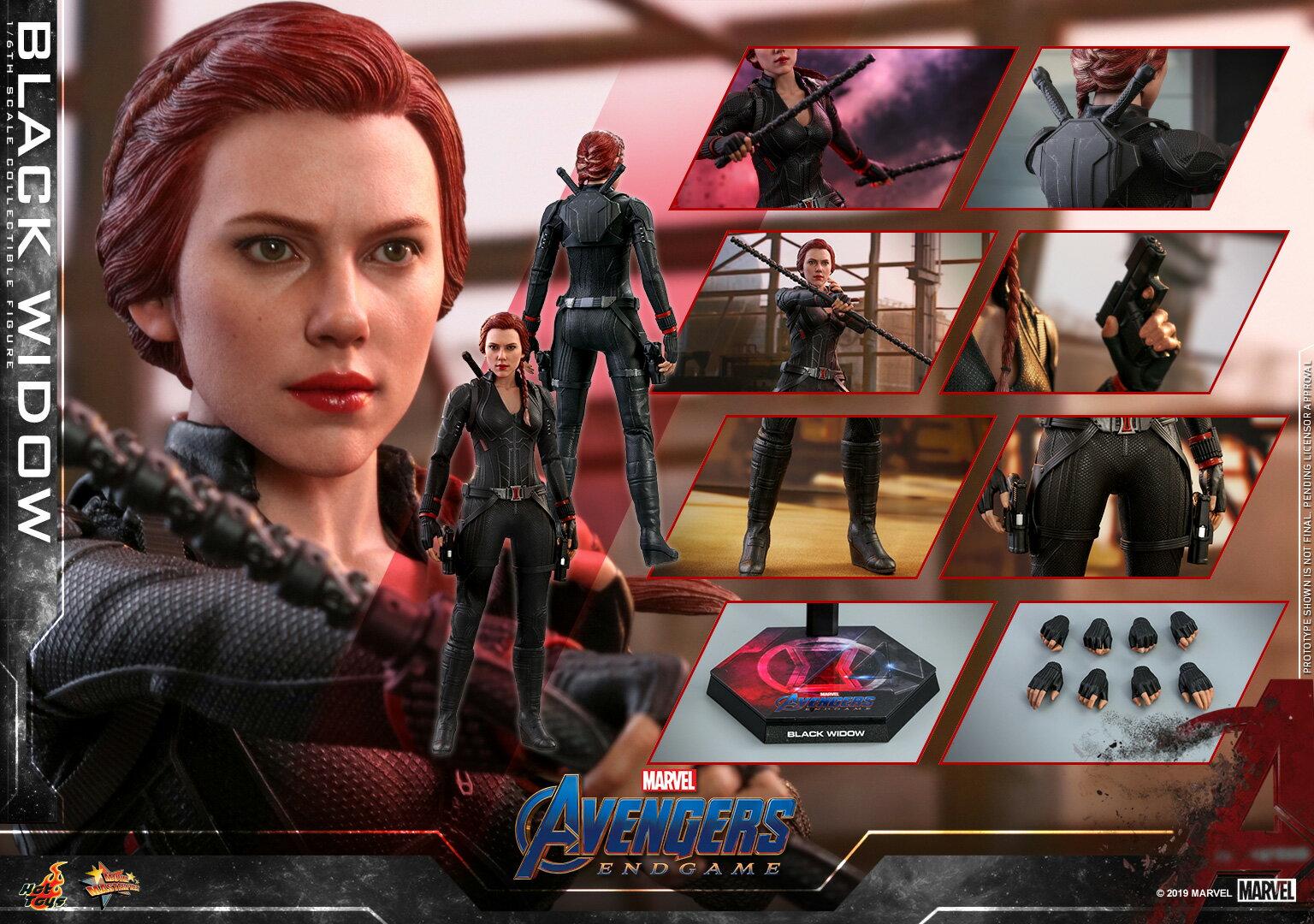 コレクション, フィギュア Hottoys MMS533 16 Avengers: Endgame - Black Widow