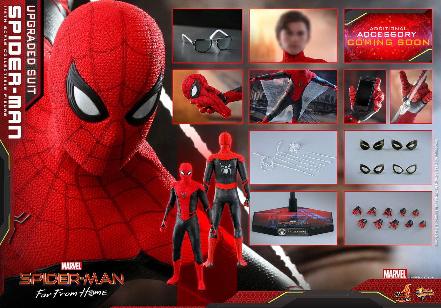 コレクション, フィギュア Hottoys MMS542 16 Spider-Man (Upgraded Suit Version)