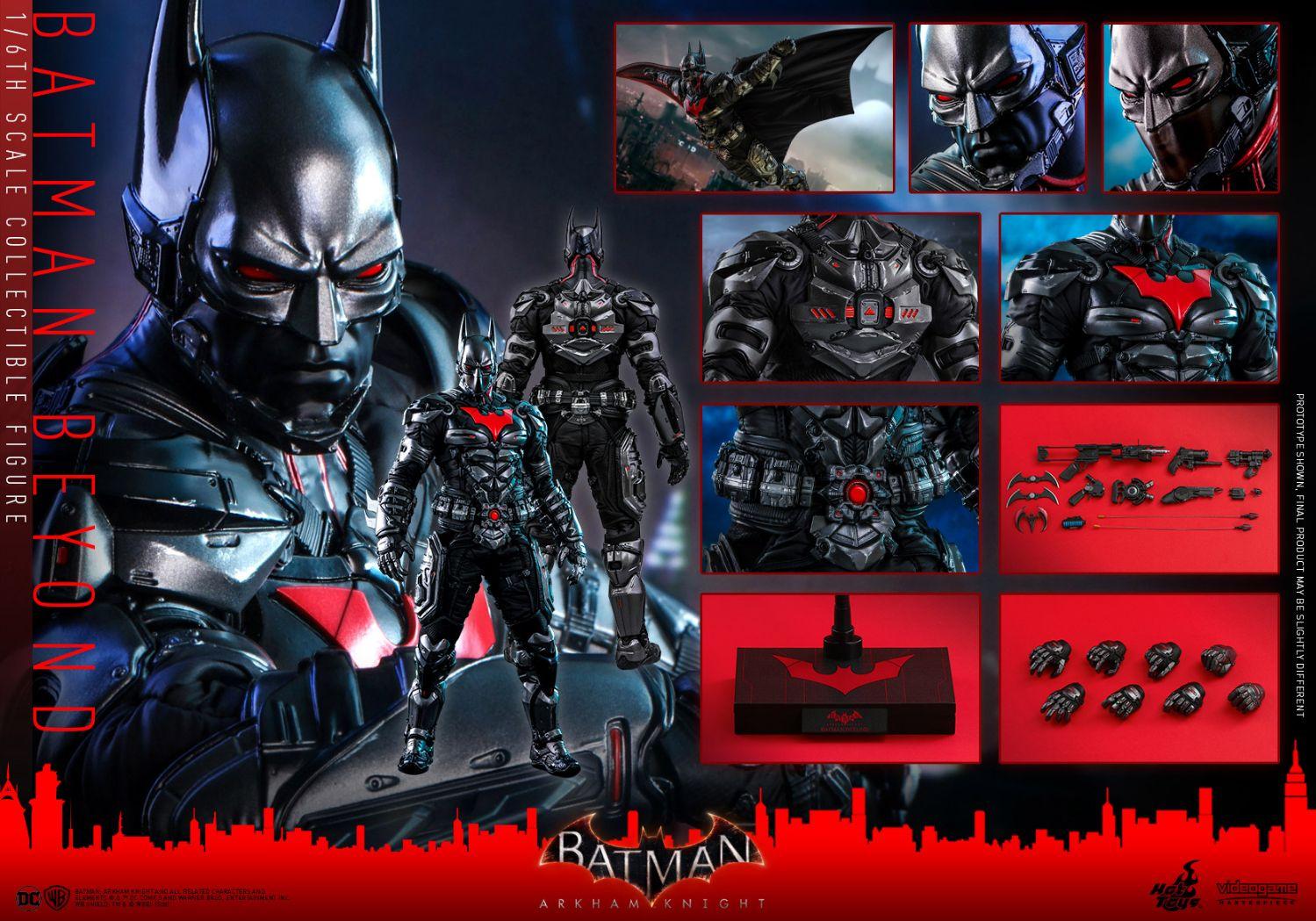 コレクション, フィギュア Hottoys VGM 39 16 Batman Arkham Knight - Batman Beyond
