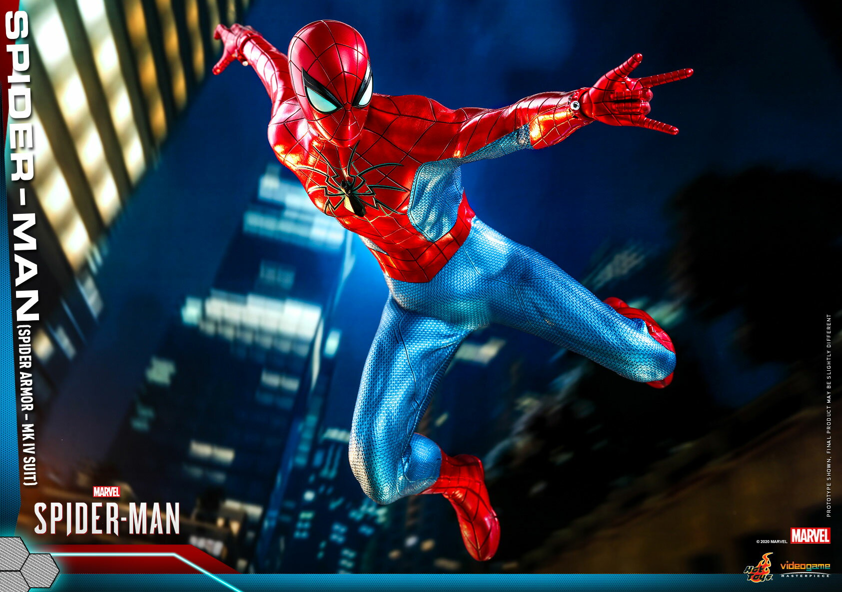 コレクション, フィギュア Hottoys VGM43 Marvels SpiderMan MK IV 16 Marvels Spider-Man - Spider-Man (Spider Armor - MK IV Suit Version)