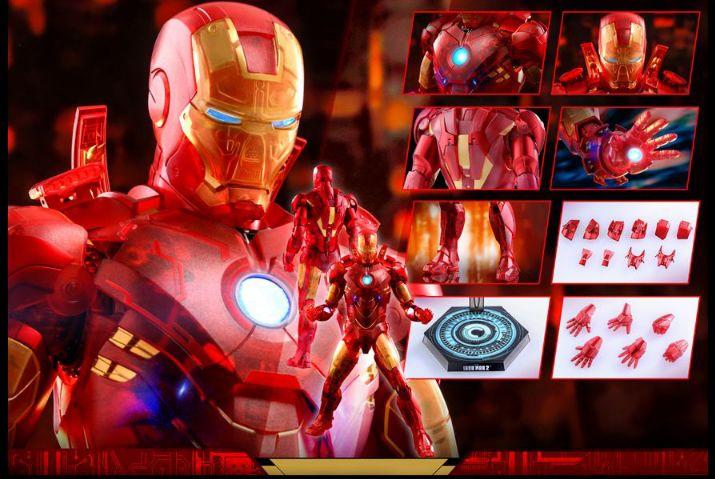 コレクション, フィギュア Hottoys MMS568 4 IRON MAN MARK IV (HOLOGRAPHIC VERSION)