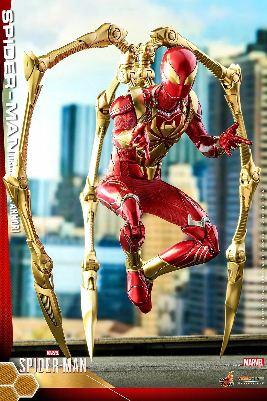 コレクション, フィギュア Hottoys VGM38Marvels SpiderMan 16 Iron Spider Armor