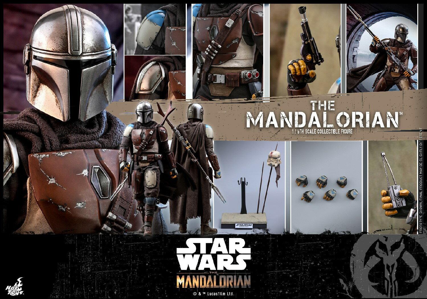 コレクション, フィギュア Hottoys TMS007 16 The Mandalorian