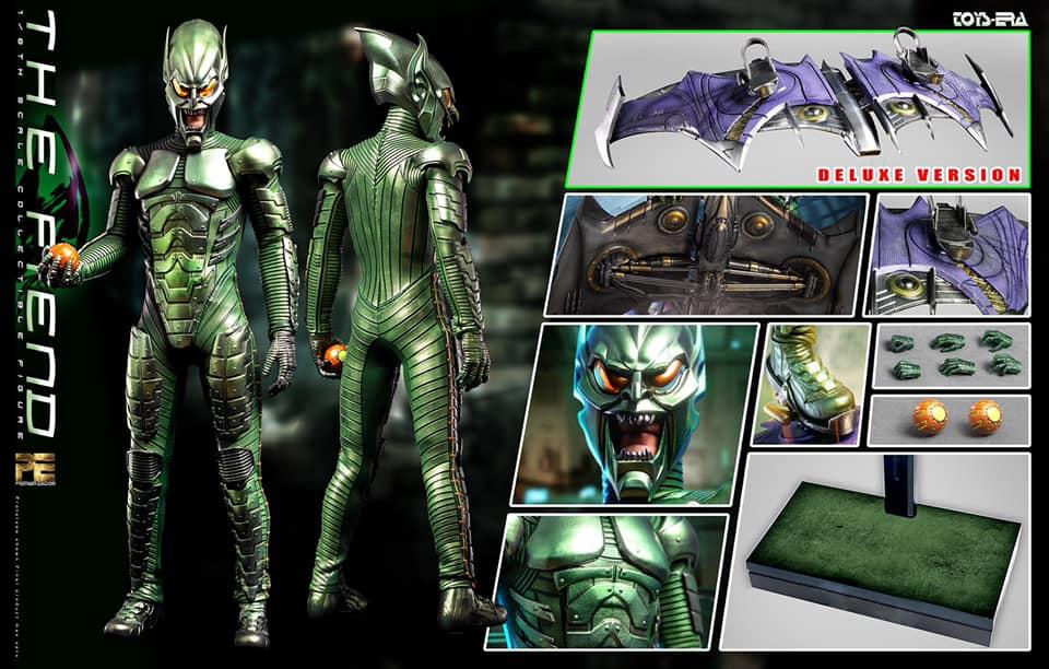 コレクション, フィギュア TOYS ERA PE007A - THE FIEND - Green Goblin 16