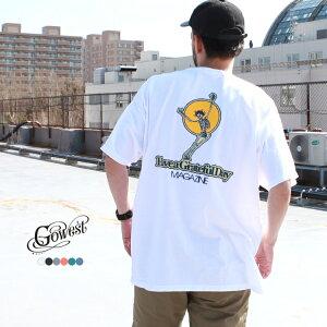 GOWEST ゴーウエスト go west トップス Tシャツ GRATEFUL DAY T-SHIRT(MAGAZINE)