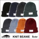 Brownfloor(ブラウンフロア) KNIT BEANIE - 帽子 ニット帽 ビーニー