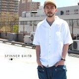 スピナーベイト Spinner Bait トップス シャツ オープンカラー S/SLシャツ アメリカンドライカノコ
