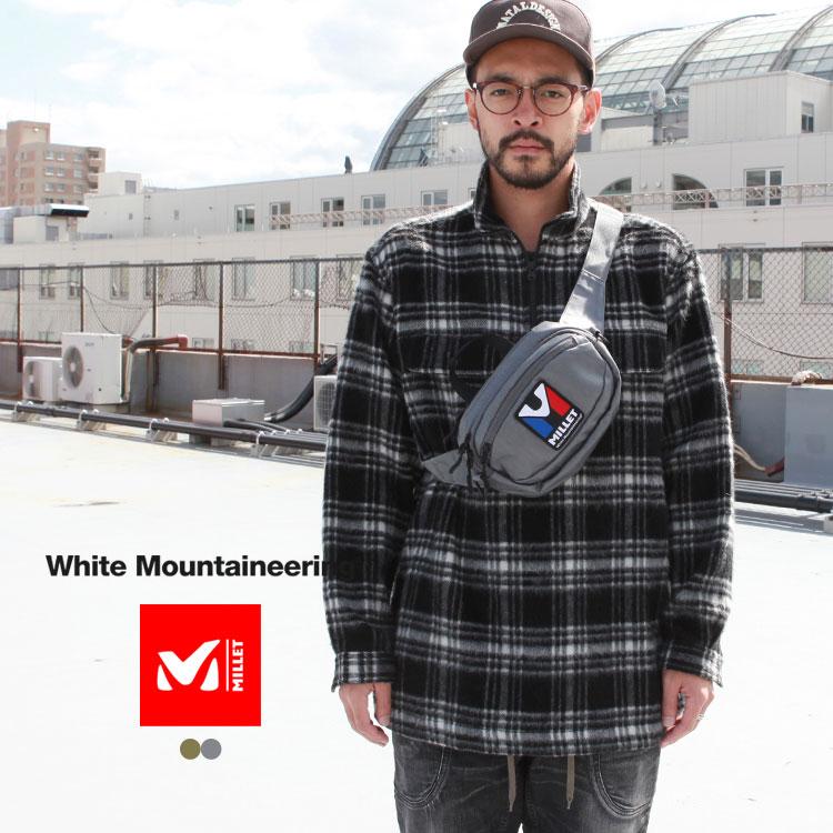 メンズバッグ, ショルダーバッグ・メッセンジャーバッグ White Mountaineering WM MILLET 2WAY SHOULDER BAG
