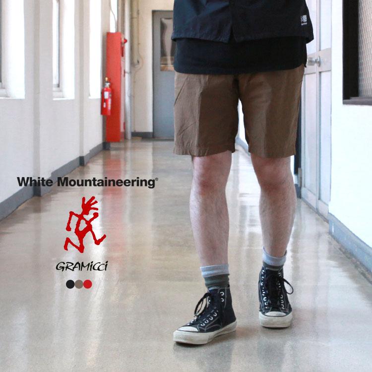 メンズファッション, ズボン・パンツ White Mountaineering Gramicci WM Gramicci GARMENT DYED EASY SHORT PANTS