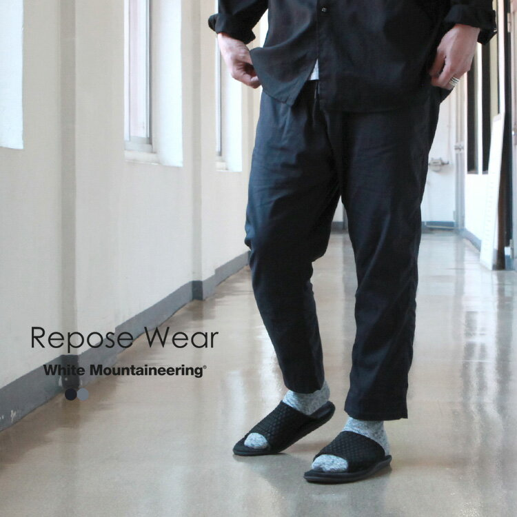 メンズファッション, ズボン・パンツ White Mountaineering Repose Wear TAPERED PANTS