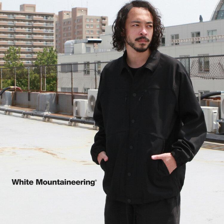 メンズファッション, コート・ジャケット  White Mountaineering STRETCHED TWILL COACH JACKET 2021AW