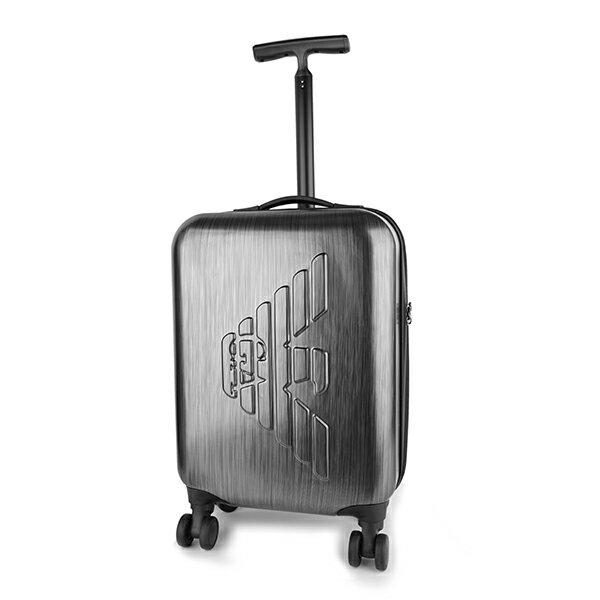 バッグ, スーツケース・キャリーバッグ 2000OFF1118()1400 ARMANI Y4Q093 YME9J 80002 EMBOSSED LOGO GRIGIO()