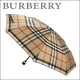 バーバリー(BURBERRY)チェックフォールディングアンブレラCHECKFOLDINGUMBRELLA400717323100ブランド小物その他傘折り畳みチェックメンズシック上品ユニセックス