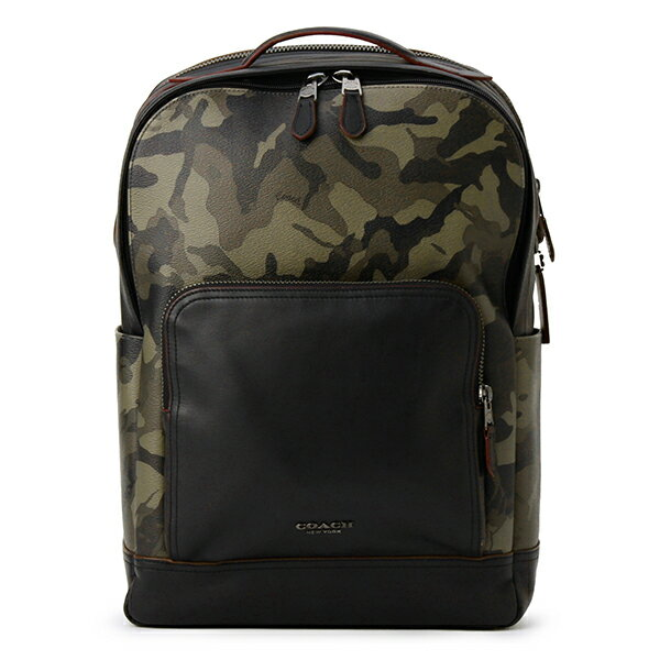 メンズバッグ, バックパック・リュック 3000OFF226()1400 COACH OUTLET F78726 QBGRN GRAHAM BACKPACK WITH CAMOPRINT GREEN()