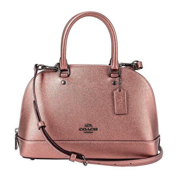 レディースバッグ, ハンドバッグ 10OFFSALE COACH OUTLET F29170 QBPH4 CROSSGRAIN METALLIC DARK BLUSH() 15900