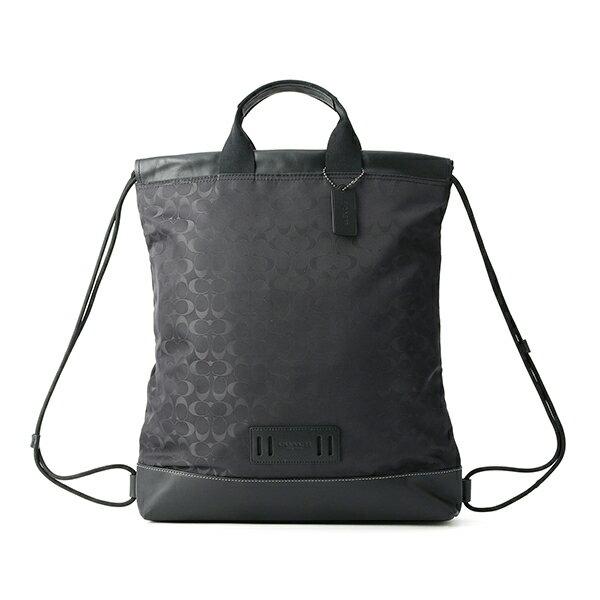 男女兼用バッグ, バックパック・リュック  COACH OUTLET F79909 QBBK SIGNATURE BLACK()