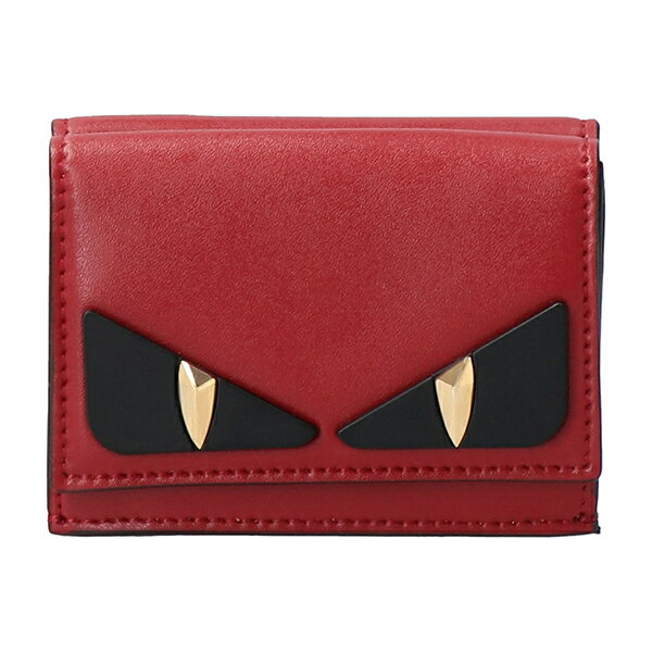 財布・ケース, レディース財布 3000OFF122()1400 3 FENDI 8M0395 A5PM F0MVV BAG BUGS EYE ROSSO()