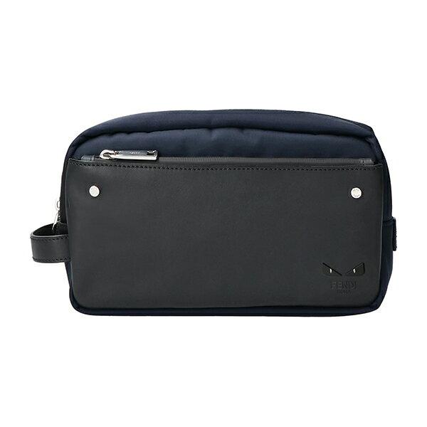 メンズバッグ, クラッチバッグ・セカンドバッグ  FENDI 7N0088 6OD F0KR1 BAG BUGS EYE BLUE()PALLADIO()