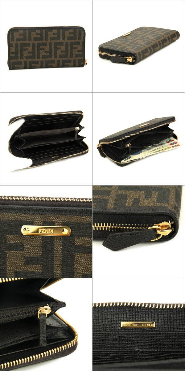 0c79fc81250c 【楽天市場】フェンディ 長財布 FENDI 8M0299 GRP F0A72 財布 ZUCCA .