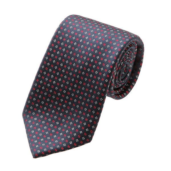 スーツ用ファッション小物, ネクタイ 2000OFF1118()1400 FENDI A0C9 8Y7 TIE DARK BLUERED