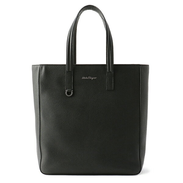メンズバッグ, トートバッグ SALE500OFF FERRAGAMO 240474 670403 NERO CALF LEATHER NERO()