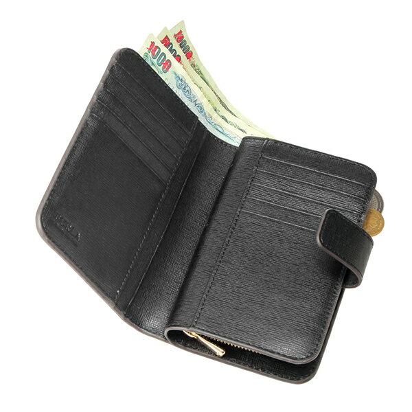 レディース フルラ 二つ折り財布 FURLA オニキス 907856 ONYX 財布 ブラック コンパクト バビロン