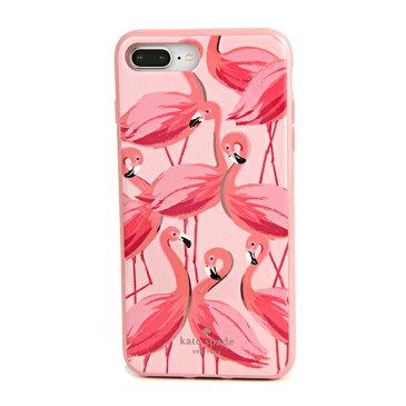 ケイトスペード iPhone7 Plus/iPhone8 Plus スマートフォンケース kate spade 8ARU2730 673 ブランド小物 アイフォンケース IPHONE CASES PAINTED FLAMINGOS レディース PINK MULTI ピンクマルチ クリスマス フラミンゴ アイフォン7プラス/8プラス スマホケース アイフォーン