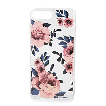 ケイトスペード iPhone7 Plus/iPhone8 Plus スマートフォンケース kate spade 8ARU2951 673 ブランド小物 アイフォンケース IPHONE CASES JEWELED PRAIRIE ROSE レディース PINK MULTI ピンクマルチ バラ アイフォン7プラス/8プラス スマホケース アイフォーンケース【