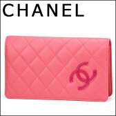シャネル 長財布 CHANEL A80211 財布 マトラッセライン MATELASSE シンプリーCC レディース PINK(ピンク) ピンク 二つ折り【 送料無料】