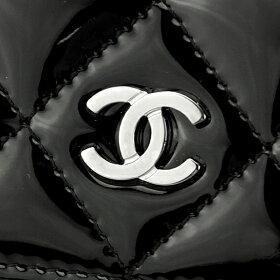 長財布A31509Y0683094305財布マトラッセMATELASSEフラップウォレットレディースBLACK(ブラック)ブラック黒ココマークパテントキルティングフェミニン上品【送料無料】