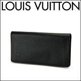 ルイヴィトン 長財布 Louis Vuitton M32572 財布 タイガ ポルトフォイユ・ブラザ メンズ アルドワーズ ブラック 黒 【 ルイ・ヴィトン ビトン 送料無料】