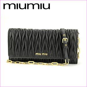 ミュウミュウ 長財布 MIU MIU 5MT290 N88 F0002 財布 マトラッセ MA…