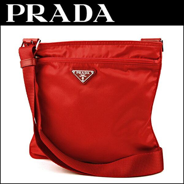 プラダ ショルダーバッグ PRADA BT0978 V44 F0011 バッグ ベラ VELA レディース ROSSO(ロッソ) レッド 赤 トライアングル プレート カジュアル 定番【】:ブランドストリートリング
