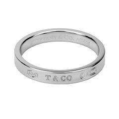 ティファニー リング TIFFANY アクセサリー 1837 ナローリング natrrow ring 4mm幅 レディース スターリング シルバー sterling silver ペアリングOK 指輪【Tiffany&Co 送料無料】