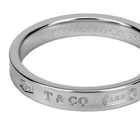ティファニーリングTIFFANYアクセサリー1837ナローリングnatrrowring4mm幅レディーススターリングシルバーsterlingsilverペア指輪【Tiffany&Co送料無料】