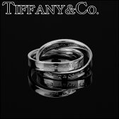 ティファニー リング TIFFANY アクセサリー 1837 インターロッキングサークルリング interlocking circles ring レディース スターリング シルバー sterling silver 2連リング ペアリングOK 指輪【 Tiffany&Co 送料無料】