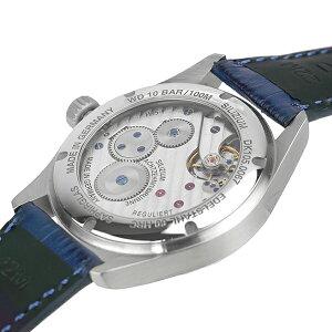 公式ダマスコDAMASKOエレガント/自社製ムーブメントDK105BLメンズ手巻きブランド時計