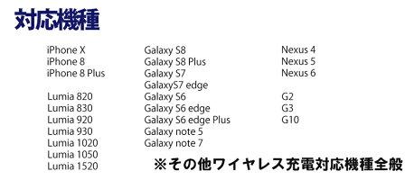iPhoneX8ワイヤレス充電器3WAYQI高速折り畳み式QuickCharge2.0GalaxyNexus