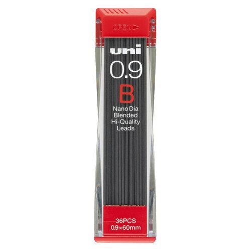 三菱鉛筆 ユニ ナノダイヤ シャープ替芯 0.9mm【B】 U09202ND-B - 送料無料※600円以上 メール便発送